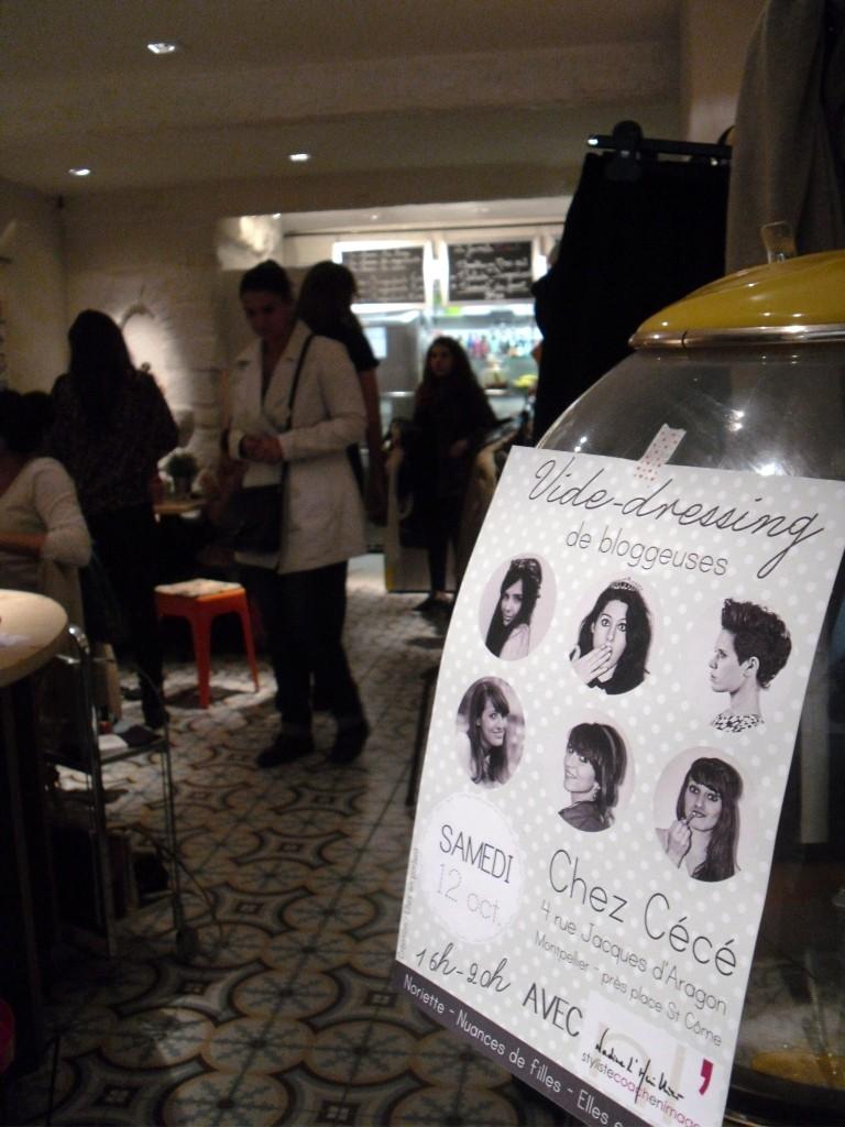 Le vide dressing de blogueuses chez c c montpellier levidedressingdunechineuse - Vide dressing montpellier ...